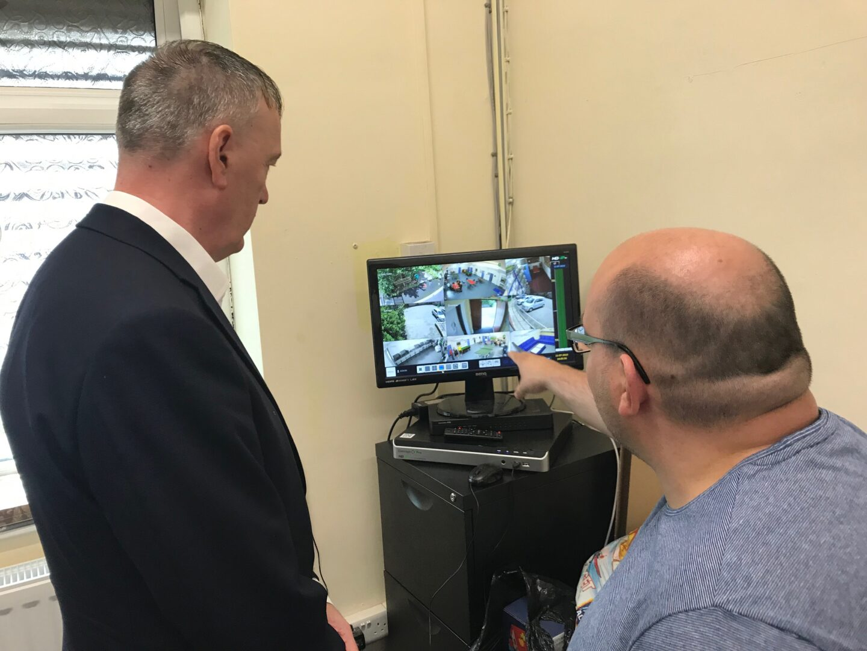 Community Action Fund visit CCTV