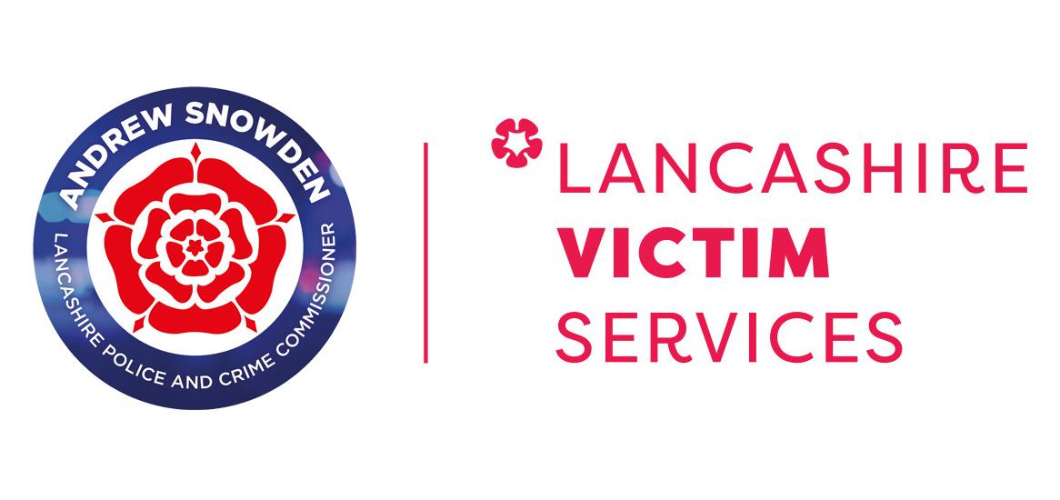 PCC and Lancashire Victim Services logo